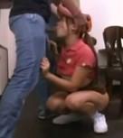 imagen Asiatica manoseada y violada por su jefe en la pizzeria