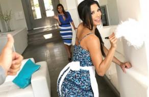 imagen Chica de la limpieza española puta y madura