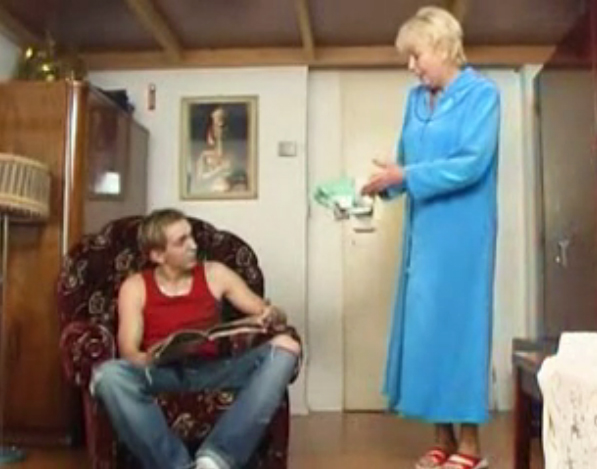 Abuela caliente es una zorra fulana - 2 part 5
