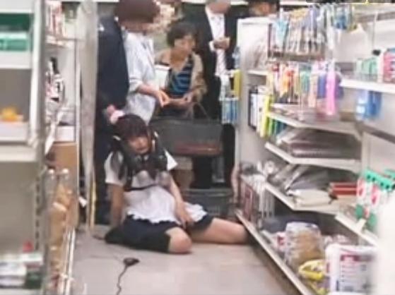 Culona en la tienda - 1 part 2