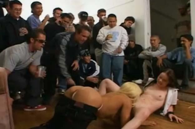 Orga con estudiantes borrachas - Canalpornocom