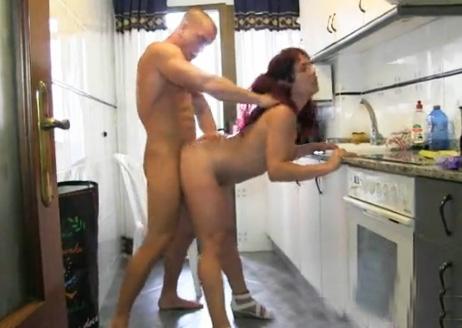 Hogar amateur hecho en la cocina