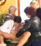 imagen Sexo con cuatro viejas cachondas