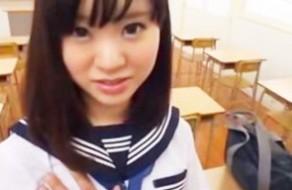 imagen Colegialas japonesas tienen sexo en la escuela