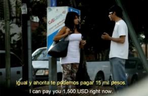 imagen Mexicana pillada en la calle follando por dinero