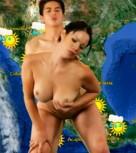 imagen Morocha mexicana follada en television