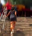 imagen Mexicana pillada en el metro folla con un desconocido