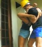 imagen Brasileña nalgona violada por un albañil