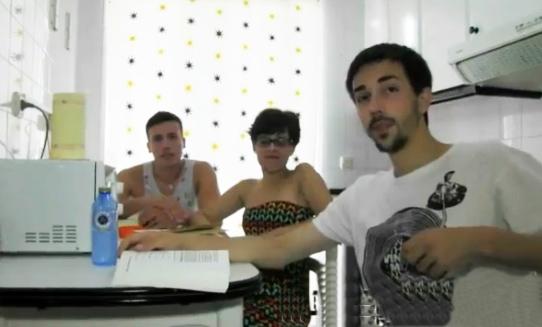 sexo trio videos caseros porno español