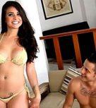 imagen Bailarina mexicana se estrena en el porno online