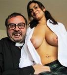 imagen Colegiala tetona follada por un perturbado sacerdote