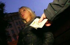 imagen Rubia muy borde follando por dinero