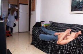 imagen Camara oculta: follando con la chica de la limpieza