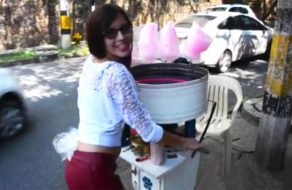 imagen Cogiendo con una deliciosa colombiana pillada en la calle