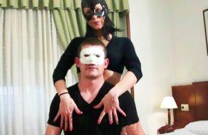 imagen Pareja amateur española follando con mascaras