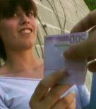 imagen Universitaria española pillada en la calle folla por dinero