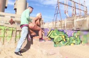 imagen Follando el culo de una argentina en la playa