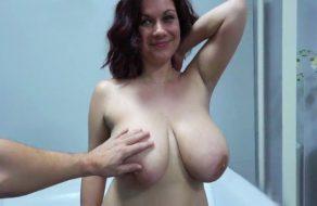 imagen Gordita tetona follada en casting porno amateur