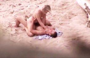 imagen Follando en la playa despues de la fiesta