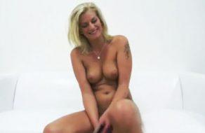 imagen Señora europea en casting porno amateur
