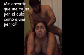 imagen Gorda latina follada por el culo