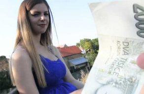 imagen Puta tetona follando por dinero en un parque