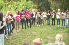 imagen Fiesta de sexo amateur en medio del campo