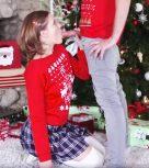 imagen Incesto con su hermana colegiala en navidad