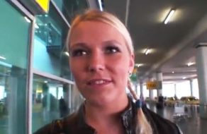 imagen Putita europea pillada en el aeropuerto de Barajas