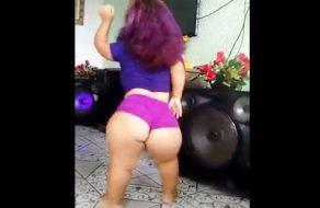 imagen Enana culona bailando twerking