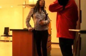 imagen Camara oculta follando a la mujer de la limpieza