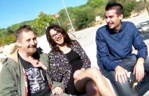 imagen Putita española en trio de sexo al aire libre
