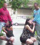 imagen Orgia de sexo en medio de la calle