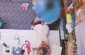 imagen Universitaria americana violada por el segurata del local