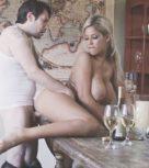 imagen Sexo duro con la tetona de su hermana