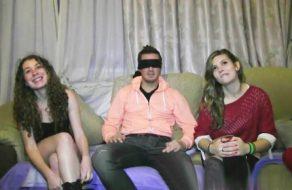 imagen Trio de sexo con dos jovencitas españolas muy viciosas