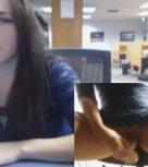 imagen Universitaria se folla con un dildo en la biblioteca