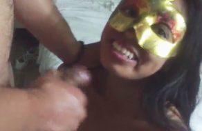 imagen Casting porno amateur con una mexicana de 20 añitos