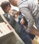 imagen Colegiala violada en la biblioteca de la escuela ¡se mea de miedo!