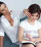 imagen Profesora lesbiana se folla a su alumna favorita