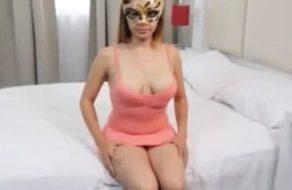 imagen Inexperta mexicana convencida para grabar un vídeo porno