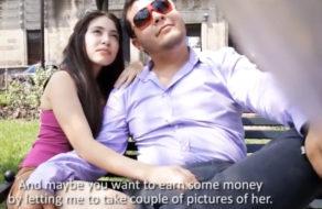 imagen Gordito mexicano deja que un desconocido folle a su novia por dinero