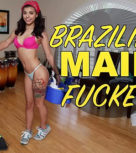 imagen Joven criada brasileña folla por dinero con el señor de la casa