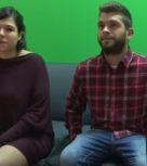 imagen Española preñada con tetazas folla con su novio ante la cámara