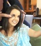 imagen Zorrita hermosa se hace selfies con la verga de su padrastro