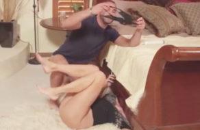 imagen Madre violada por su hijo debajo de la cama (incesto)