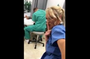 imagen Enfermera amateur 100% real se masturba en el hospital