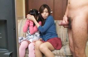 imagen Madre e hija japonesas en un espectacular trío de sexo