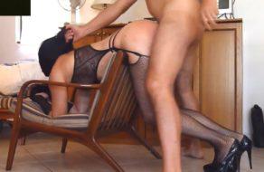 imagen Perra sumisa usada, follada y azotada con el cinturón