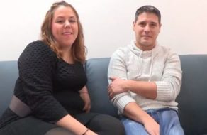 imagen Gordita española graba su primer vídeo amateur follando con su novio